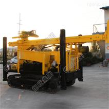 履帶地質勘探鉆機 500米柴油液壓打井設備