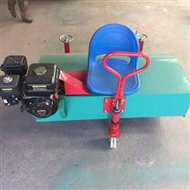 小型汽油梳草机  电动毛刷刷草设备