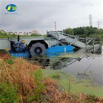 四川全自动水草收割船 水面垃圾打捞船